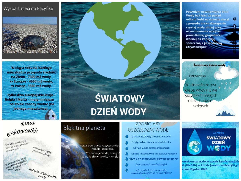 plakaty o wodzie