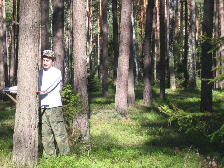 Szacunki brakarskie - ile drewna mamy w lesie